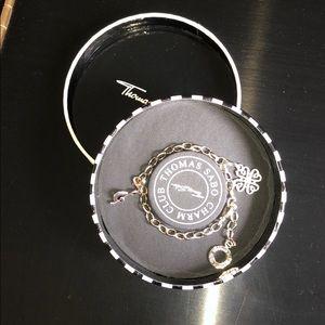 Thomas Sabo Sterling Silver Charm Bracelet
